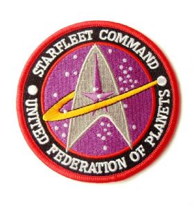 Star Trek Starfleet Command United Federation Of Planets Patch
